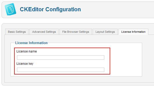 CKEditor 3 x/Howto/Joomla CKFinder License - CKSource Docs